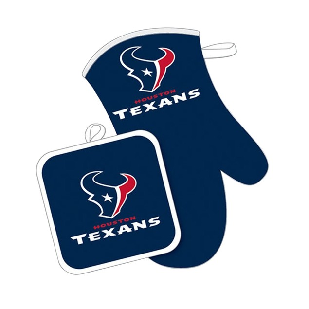 Houston Texans Oven Mitt and Pot Holder
