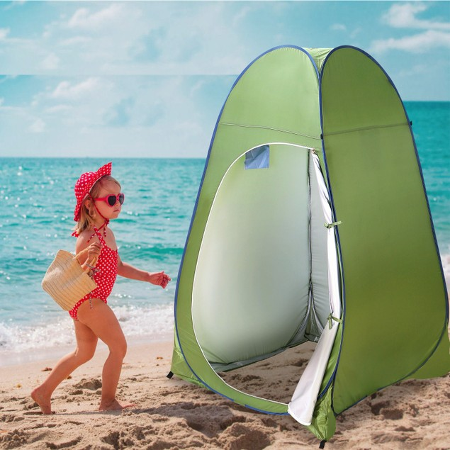 1Person Outdoor Pop Up Toilet Tent Portable Changing Clothes Room Tent