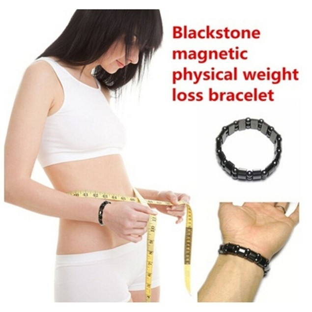 Magnetic Black Stone Magnetic Therapy Health Care Beads Bracelet