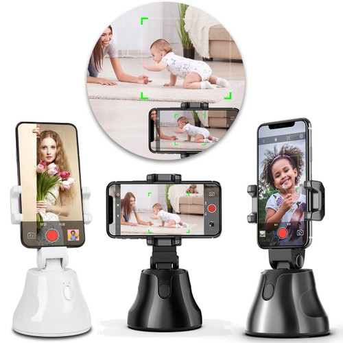 Zummy 360 Rotation Auto Face Object Tracking Smart Shooting Camera Phone Mount