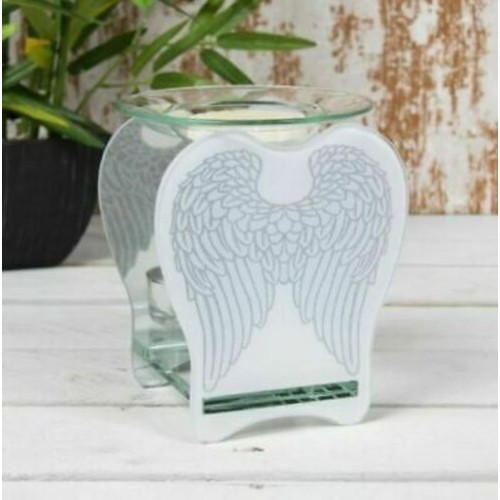 Glass Angel Wings WaxOil Warmer By Lesser and Pavey