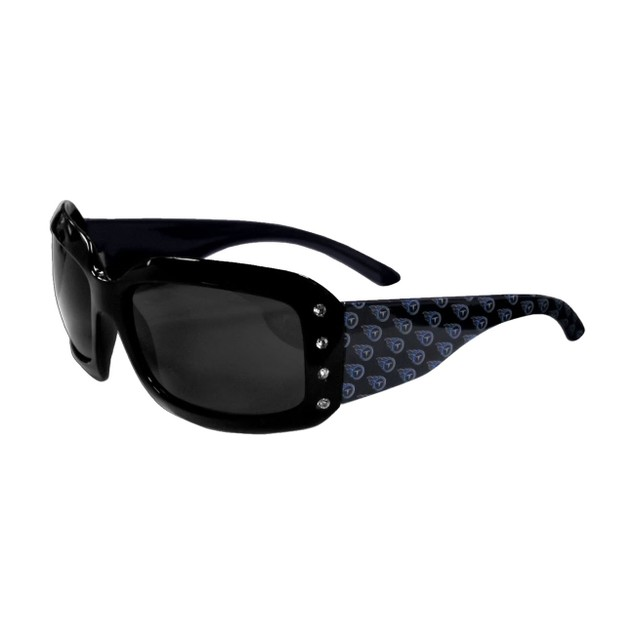 NFL Sports Team Logo Women's Designer Bling Sunglasses