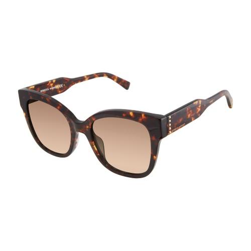 Rebecca Minkoff Women Sunglasses RMMARTINA 1GS Havana 52 20 140 Square Gradient