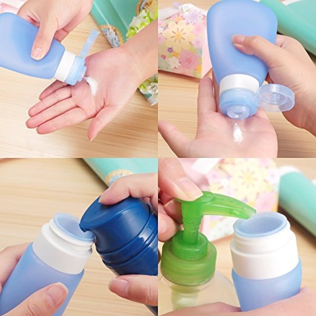 Travel Size Bottles 3-Pack
