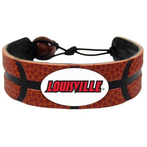 Louisville Cardinals Classic Basketball Bracelet NCAA College D1 Leather