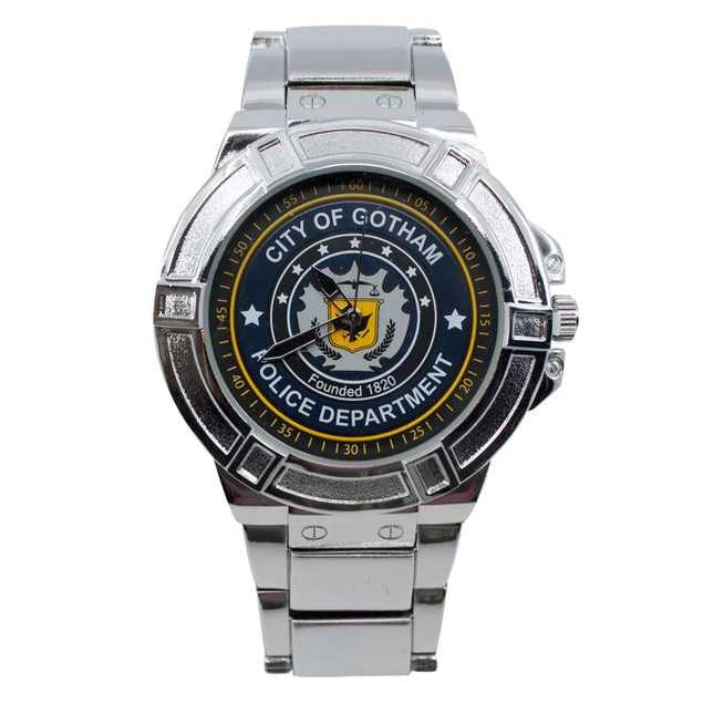 Batman GCPD Watch with Metal Band