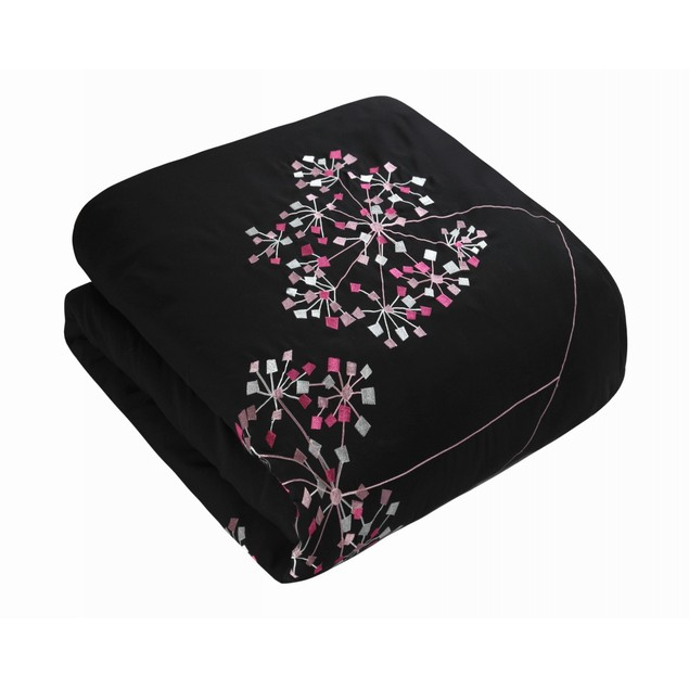 Chic Home 12 Piece Chantal Embroidered Floral Design Comforter Set