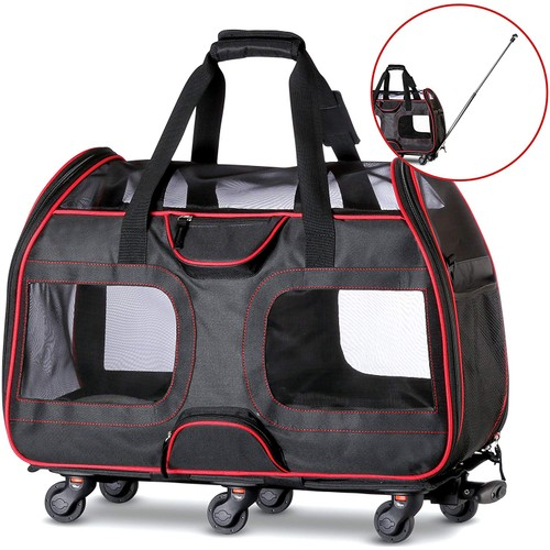 Katziela Pet Carrier with Removable Wheels LUXURY RIDER