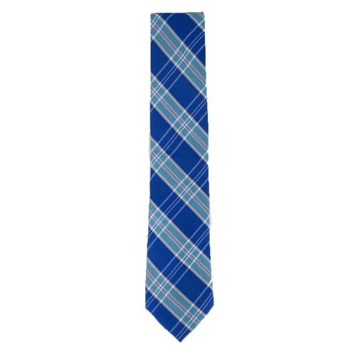 Tommy Hilfiger Men's Vincent Plaid Tie Turquoise One Size