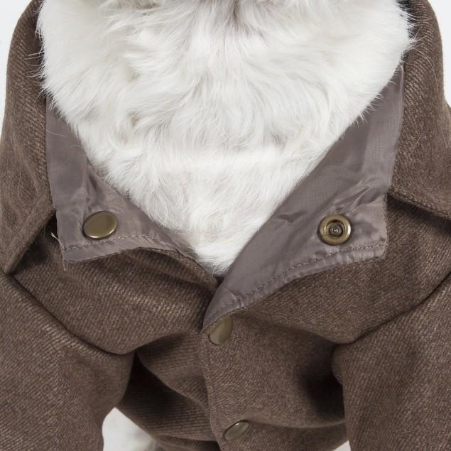 Galore Back-Buckled Fashion Wool Pet Coat
