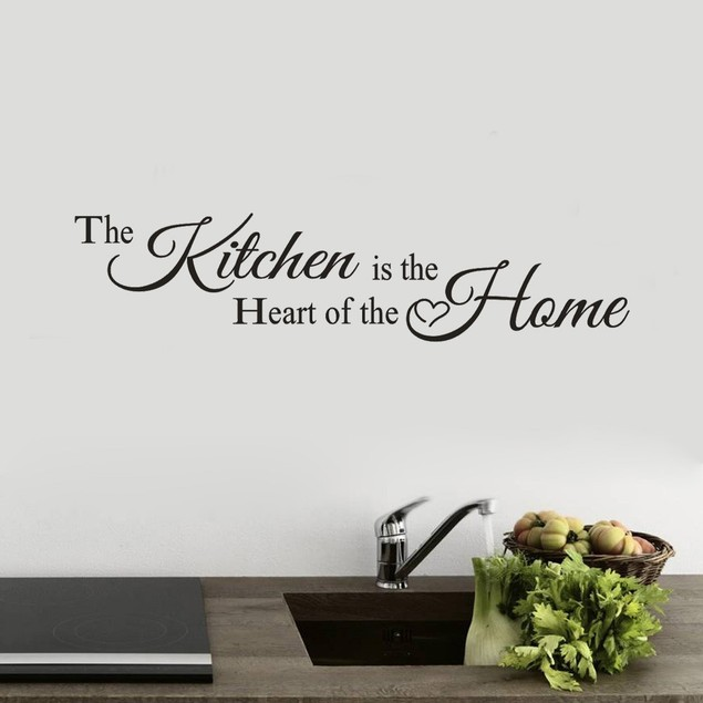 Kitchen Wall Sticker Decal Home Bedroom Decor Vinyl  Art Mural