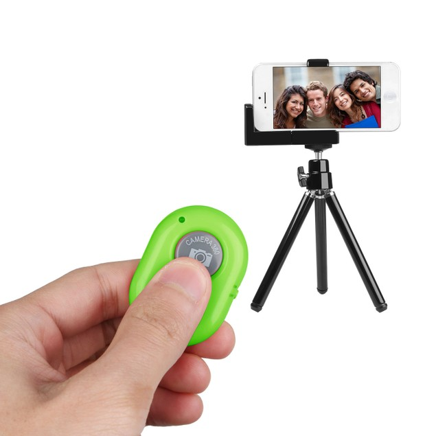 Unique Wireless Shutter Remote Controller for Android and iOS Devices