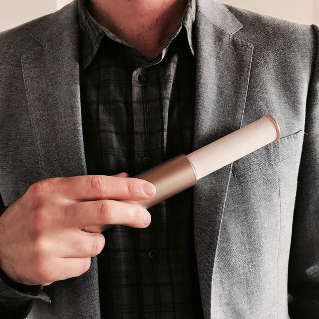 Flint Retractable Easy Use Lint Roller, Refillable & Portable, 30 Sheets,