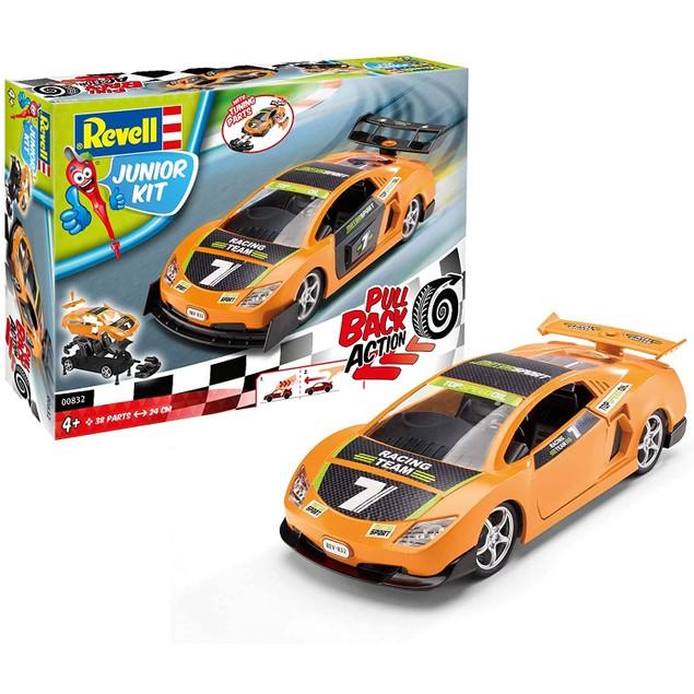 Orange Pull Back Junior Revell Car Kit