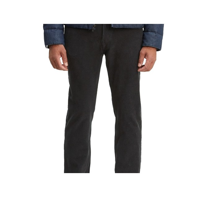 Levi's Men's 502 Taper Corduroy Pants Black Size 36X34