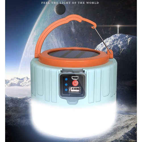 Solar Powered 1200 Lumen Lantern