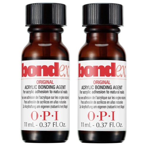 OPI Bondex Original Acrylic Bonding Agent, 0.37 oz (Pack of 2)