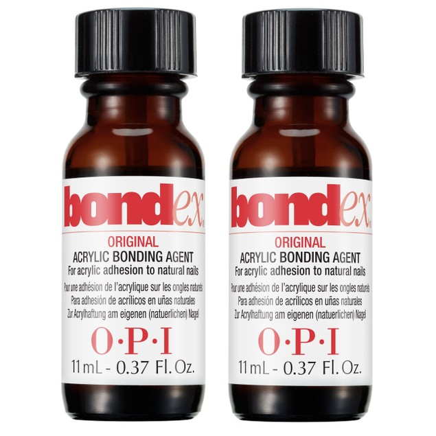 OPI Bondex Original Acrylic Bonding Agent, 0.37 oz (Pack of 2)