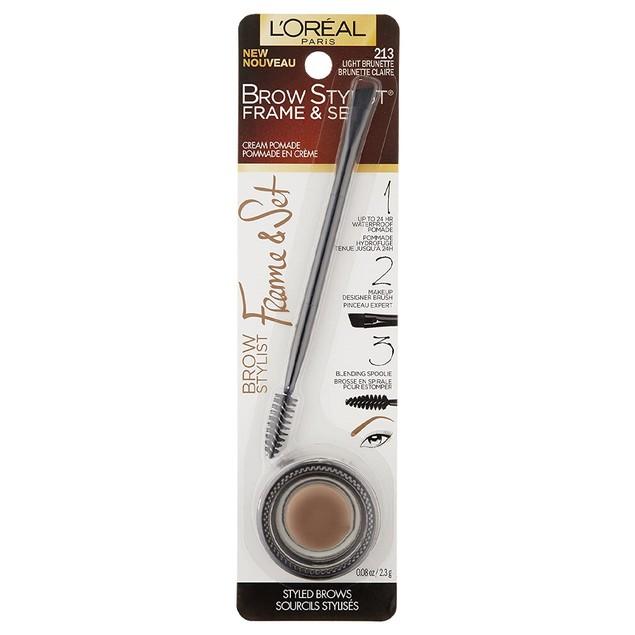 L'Oreal Paris Brow stylist frame & set gel pomade light brunette, 2.29 Gra