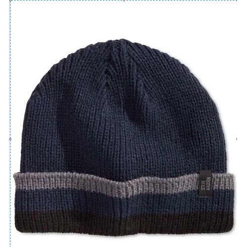 Steve Madden Men's Hat Navy Blue One Size