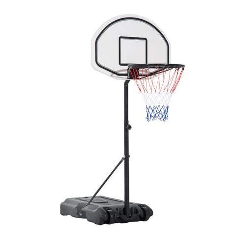 Basketball Hoop System Pool Water Sport Game Play Outdoor Adjustable