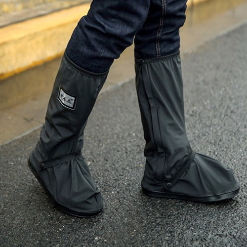 Waterproof Reusable Rain Boot Shoes Covers with Reflector Slip Resistance