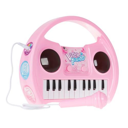 Kids Karaoke Machine Microphone Musical Keyboard Portable Singing Machine