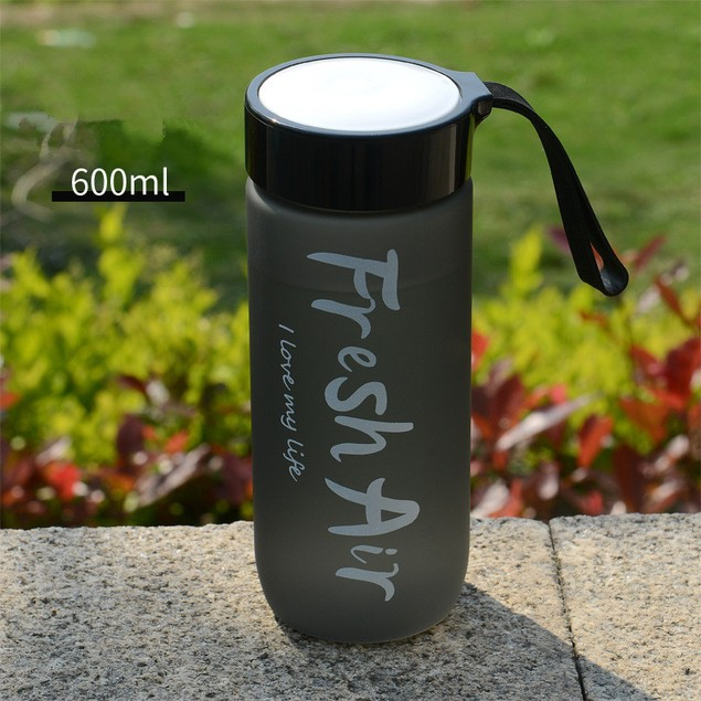 Outdoor Sports Portable Plastic Cup Creative Gift Water Cup For Children And Students