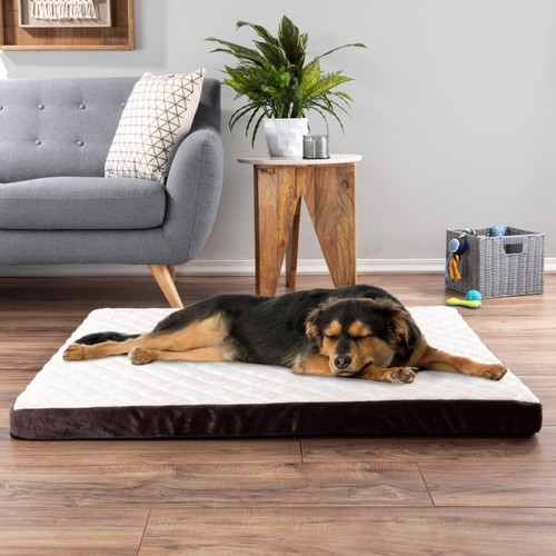 Pet Bed Bamboo Charcoal Infused  Foam Orthopedic Cushion 44 x 35 x 2.75