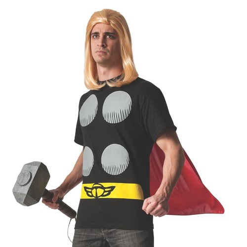 Thor Costume T-Shirt with Cape