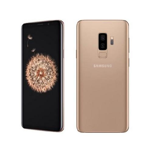 Samsung Galaxy S9+, Unlocked, Gold, 64GB, 6.2 in Screen - Grade A