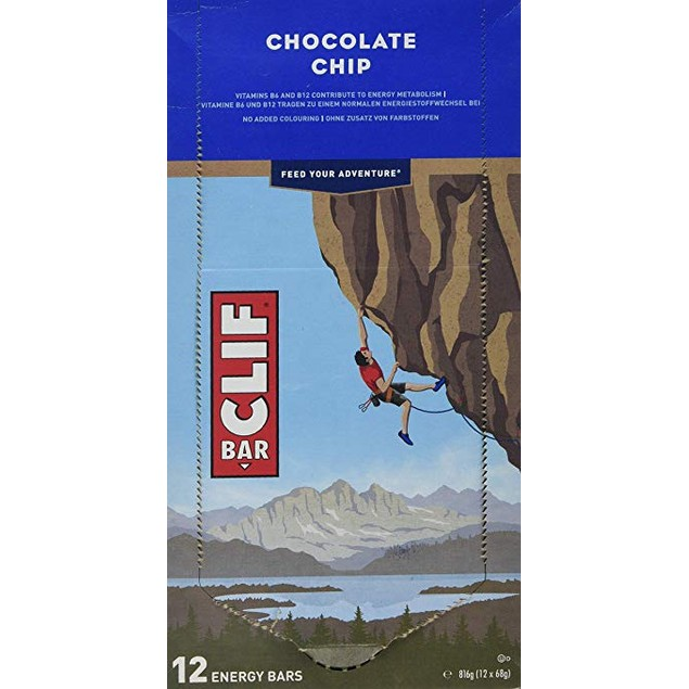 CLIF BAR - Energy Bar - Chocolate Chip