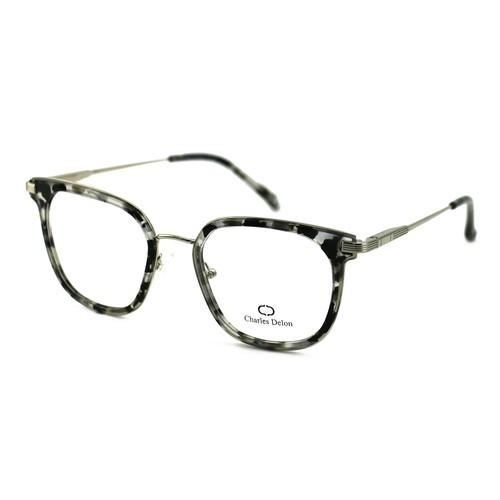 Charles Delon Women's Eyeglasses MK003 C3 Havana Black 51 20 140 Square Plastic