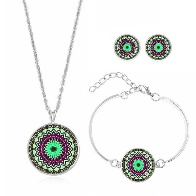 Mandala Jewelry Set