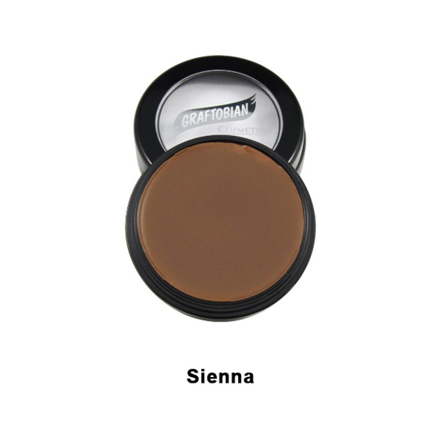 Sienna HD Glamour Creme Foundation 5 oz. Graftobian Cruelty Free USA