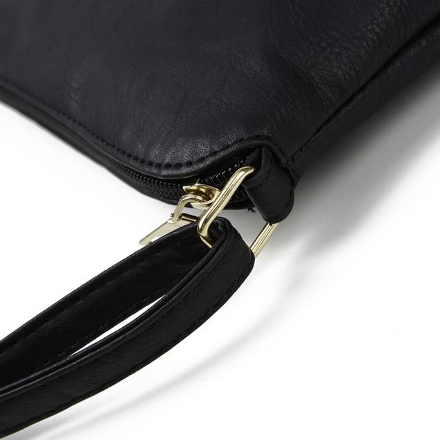 Women's Plaid Double Tassel Diagonal Shoulder Bag