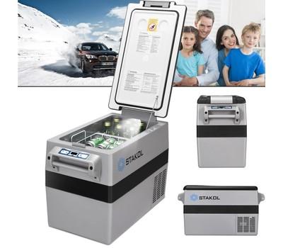 44 Quarts Portable Electric Car Cooler Refrigerator/Freezer Compressor Camp Was: $699.99 Now: $391.99.