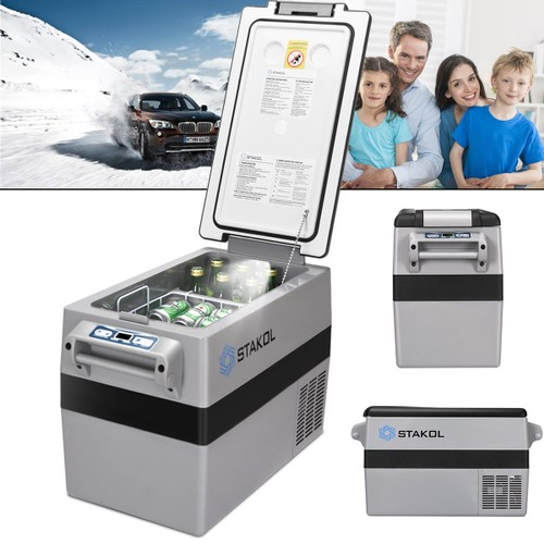 44 Quarts Portable Electric Car Cooler Refrigerator/Freezer Compressor Camp
