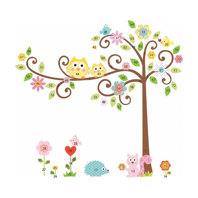 Roommates Nursery Baby Room Wall Decorative Scroll Tree MegaPack