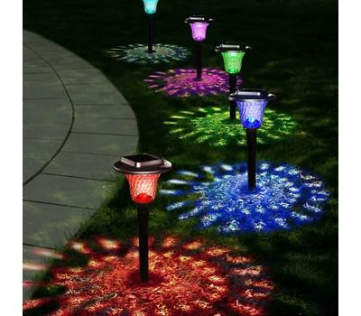 Glass Solar Lights Outdoor for Garden Pathway Walkway Yard Decorative 6 Pack Was: $59.99 Now: $59.99.