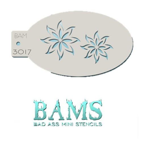 Daisies Bad Ass Mini Stencil Graftobian Cruelty Free USA Professional