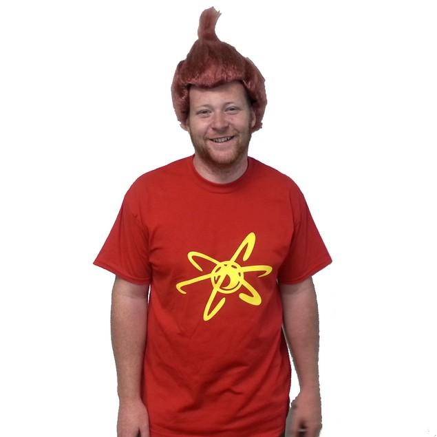 Jimmy Neutron T-Shirt Costume