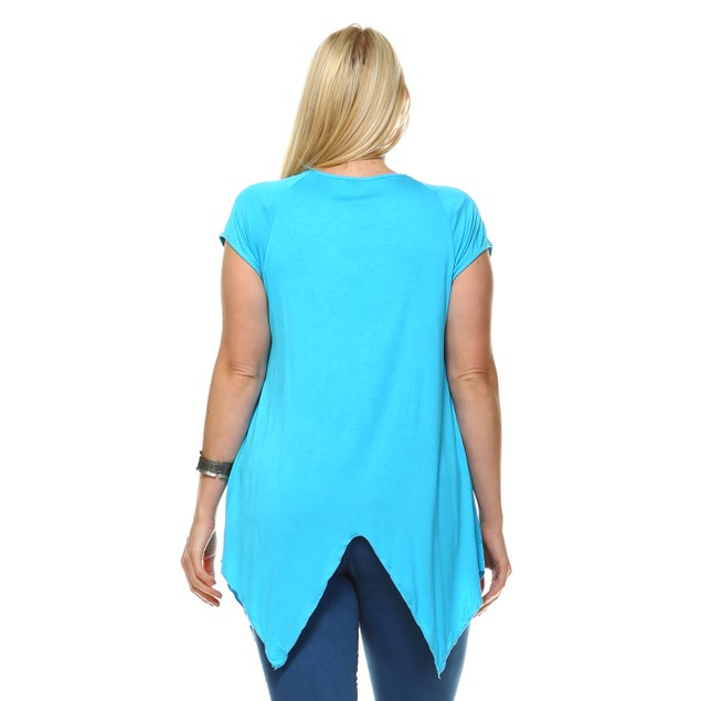 Fenella Embellished Top - 7 Colors - Extended Sizes