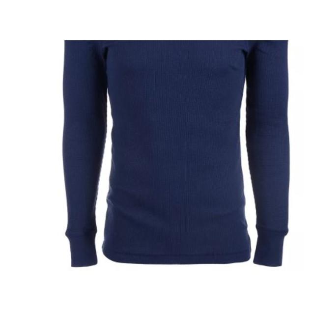 Alfani Men's Thermal Shirt Navy Size XX-Large