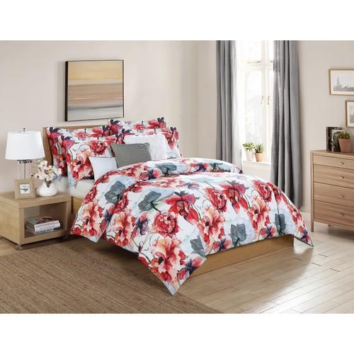 Siena 6-Piece Floral Oversized Comforter Set