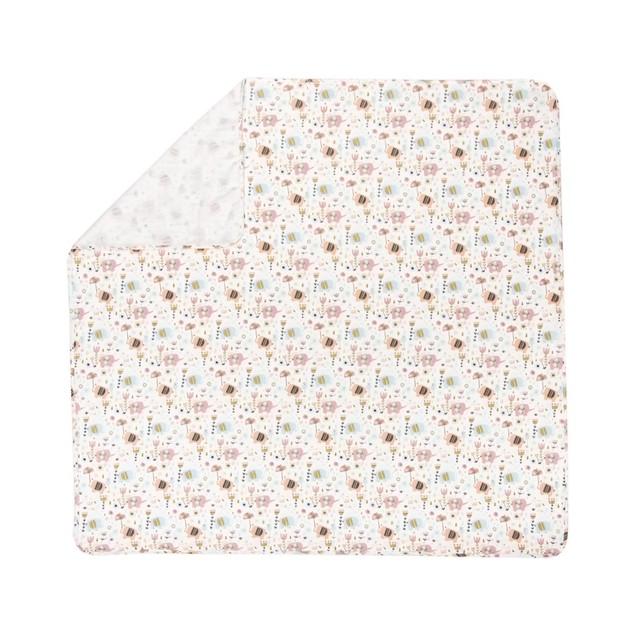 Trend Lab Playful Elephants Flannel Swaddle Blanket