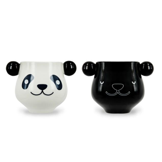 Panda Heat Changing Mug Bear Coffee Tea Activated Color Animal Novelty