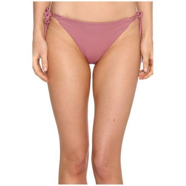 O'Neill Womens Malibu Solids Tie Side Bottom Mesa Rose SIZE X-SMALL