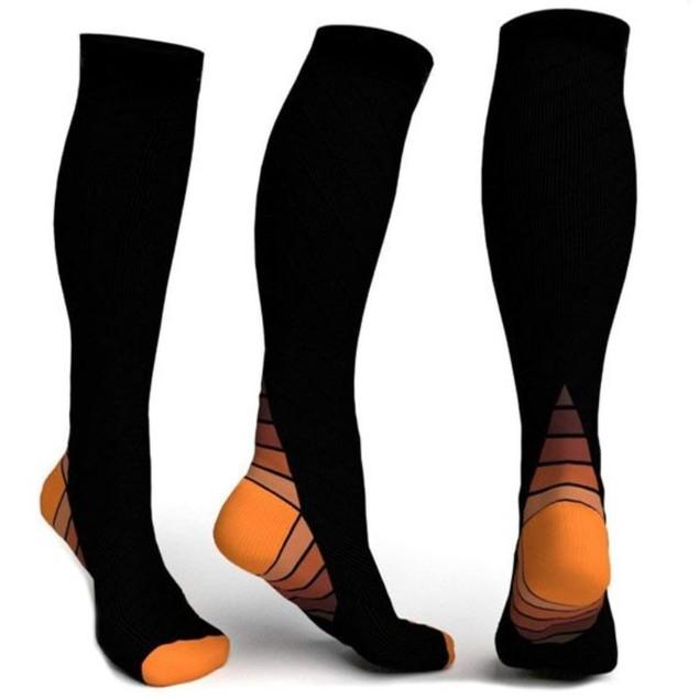 3pairs Athletic Compression Socks - Sport Compression Socks for Men & Women