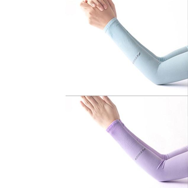 Fingerless Lengthen Sun Protection Cycling Sleeve Unisex